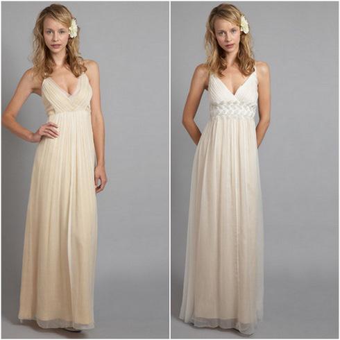 платья в пол в греческом стиле (12 фото.