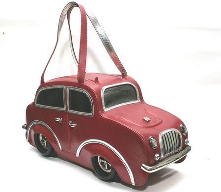 """Сумочка-машина  """"Braccialini """", как и все сумочки этого бренда..."""